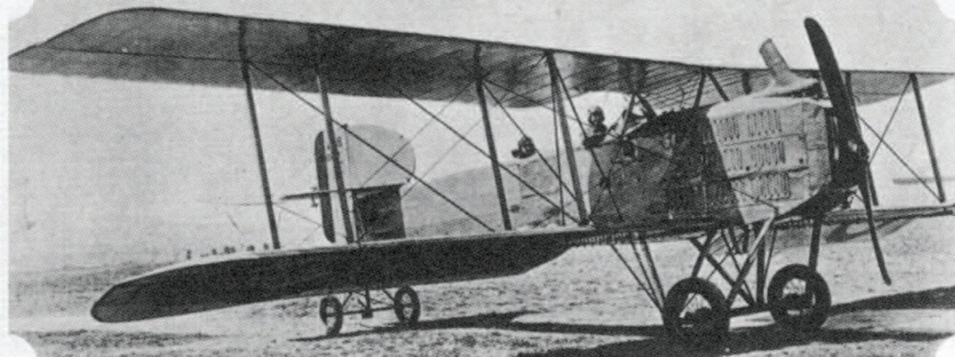 The Breguet 14 reconnaissance aircraft and bomber, a plane used by the 9th Aero Squadron. (Source: Wikimedia Commons)