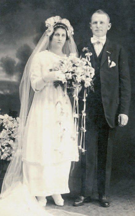 Grandma and Grandpa Lankutis