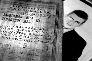 During the riots, 351 men and 51 women were arrested. Vytautas Kaladė (photo, right) was incarcerated for three years. The photo shows the criminal proceedings instigated by the prosecutor of the Lithuanian SSR against Vytautas Kaladė, Antanas Kačinskas, Rimantas Baužys, Virginija Urbonavičiūtė, Kazys Grinkevičius, Vytautas Žmuida, Jonas Prapuolenaitis, and Juozas Macijauskas. All eight were convicted.