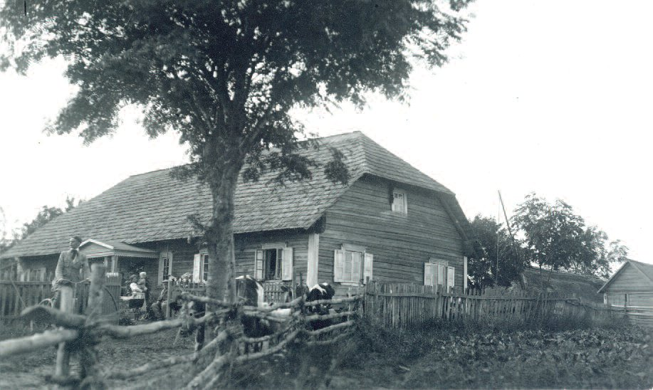 The Buračas homestead in Sidariai.