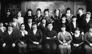 Members of the Lithuanian Catholic Women's Alliance, South Boston